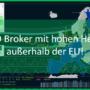 CFD Broker mit hohem Hebel außerhalb der EU